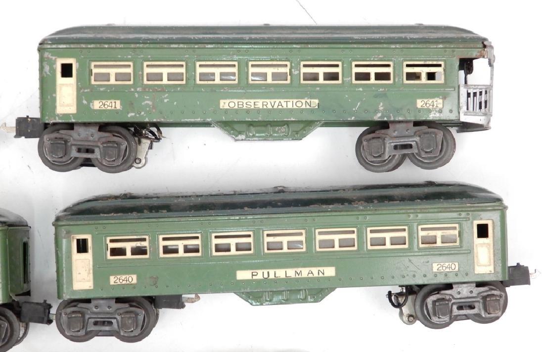 Lionel prewar O27 gauge passenger set - 2