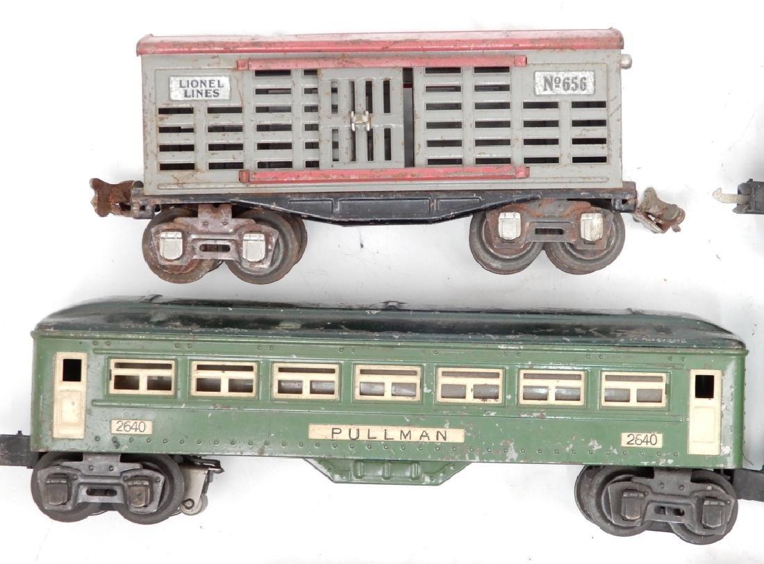 Lionel prewar O27 gauge passenger set - 3