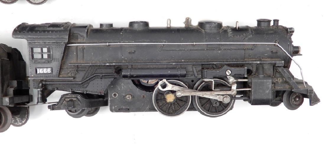 Lionel prewar O27 gauge passenger set - 4