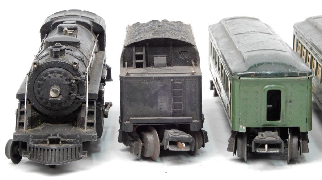 Lionel prewar O27 gauge passenger set - 6