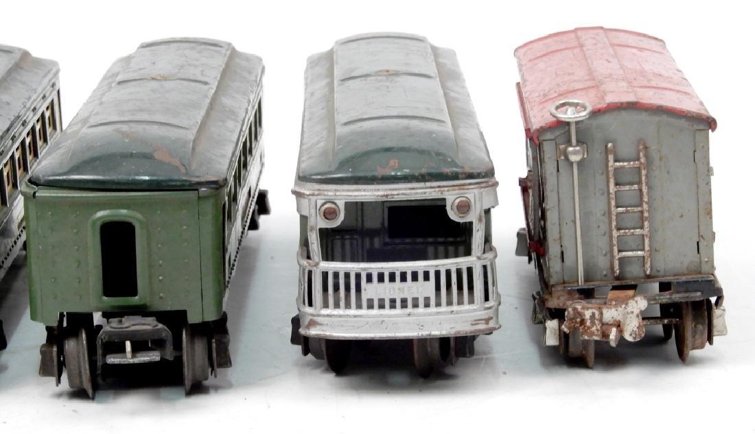 Lionel prewar O27 gauge passenger set - 7