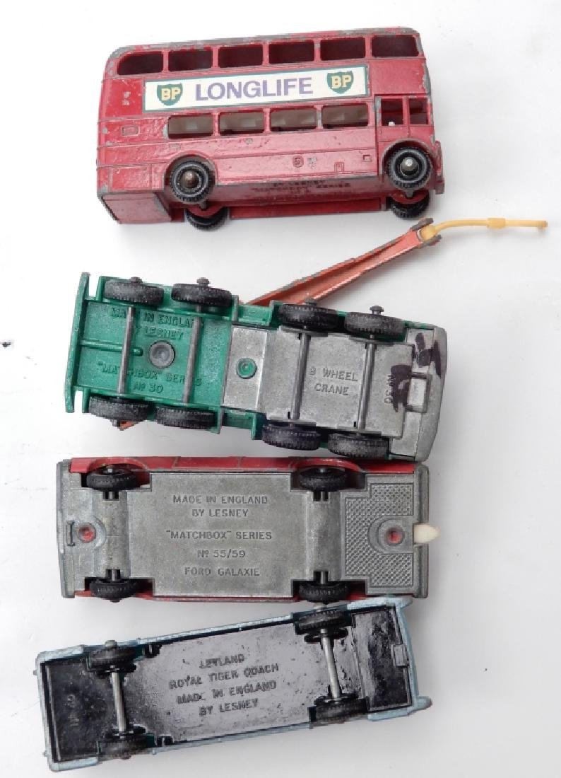 Matchbox Lesney Collector's Case with cars - 7