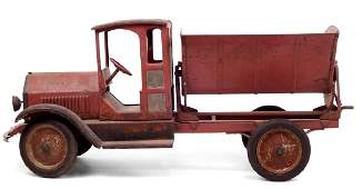 Sturditoy pressed steel Side Dump Truck