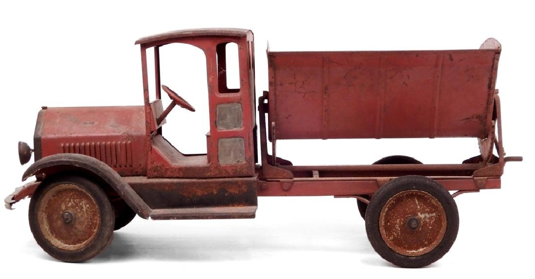 Sturditoy pressed steel Side Dump Truck