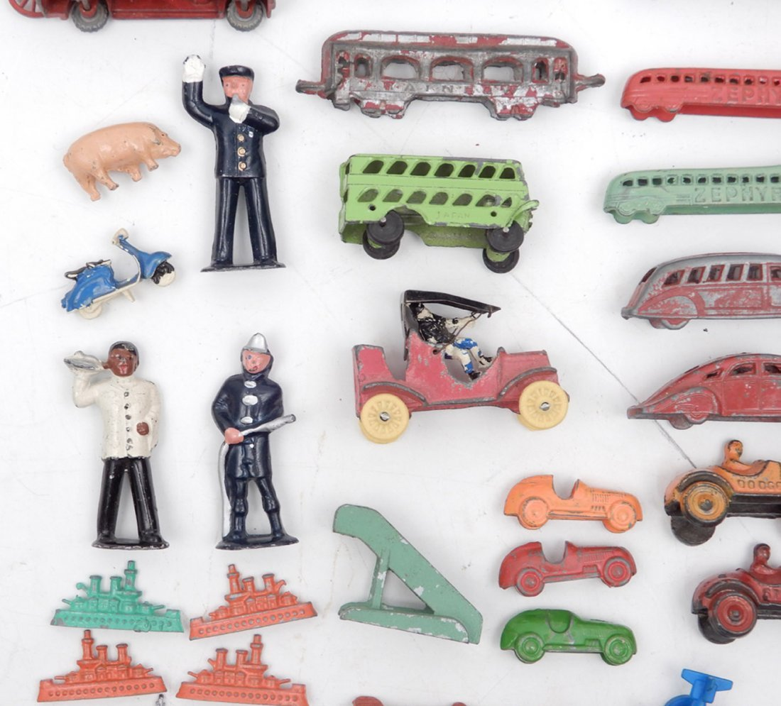 Collection of miniature diecast vehicles - 4