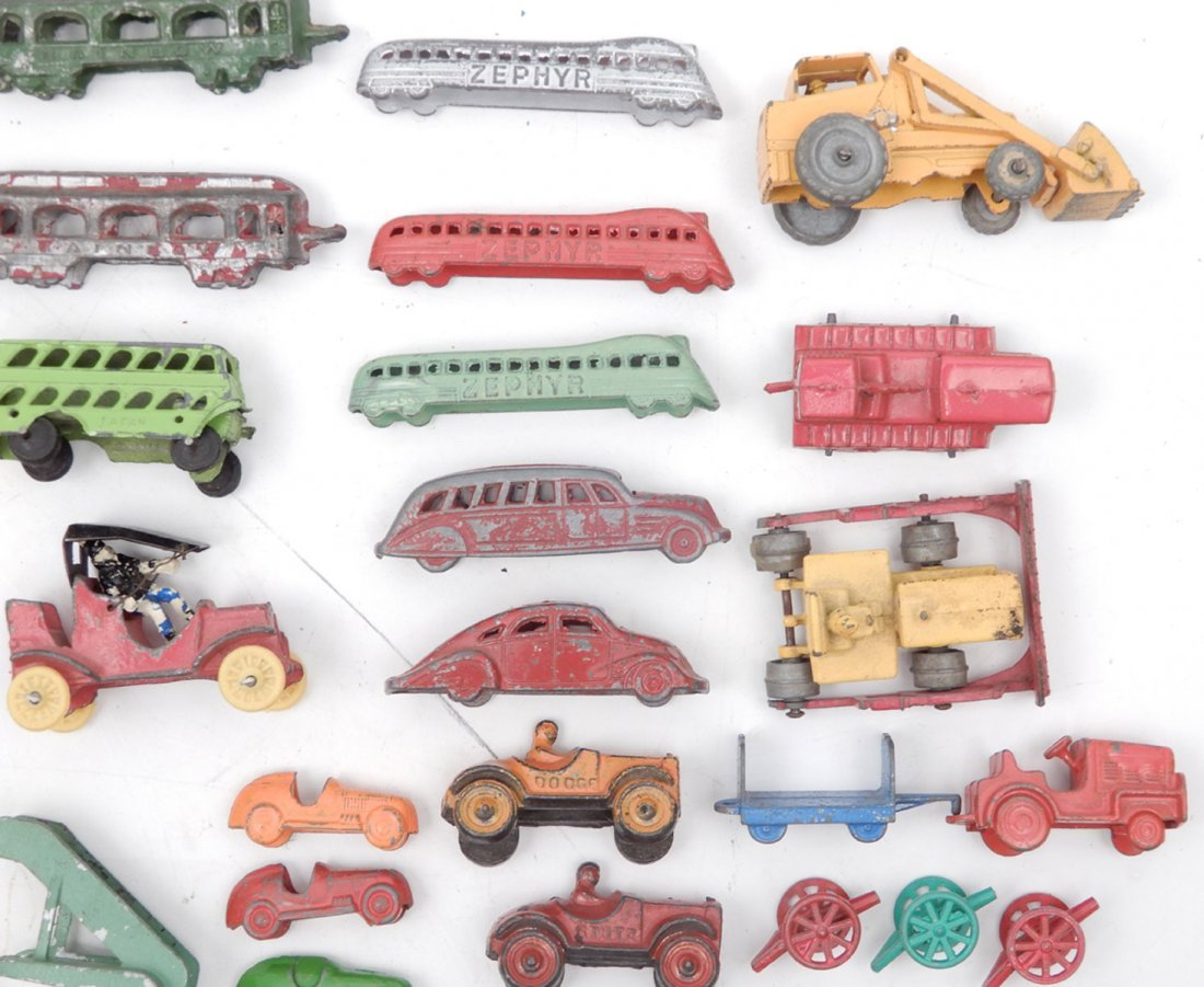 Collection of miniature diecast vehicles - 5