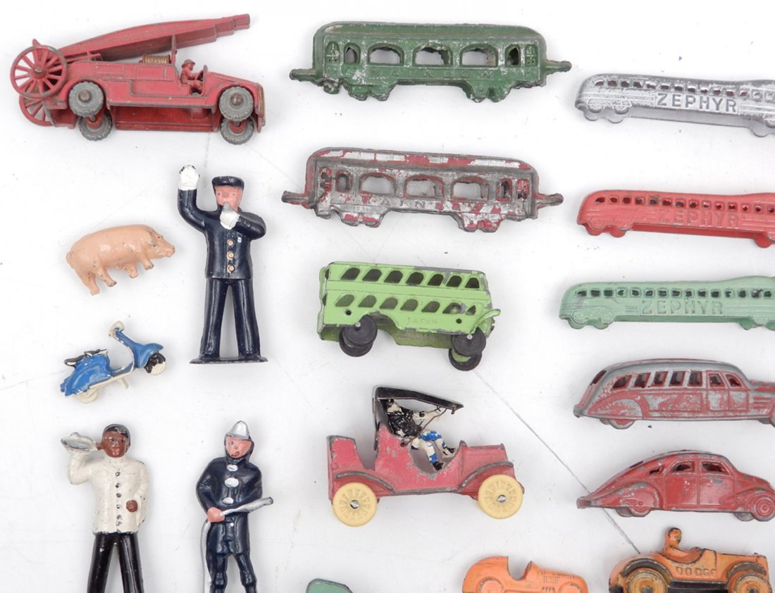 Collection of miniature diecast vehicles - 6
