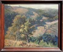 G George L Loftus Noyes oil on canvas