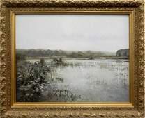 Greg Harvey oil on canvas