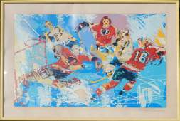 Leroy Neiman lithograph on paper