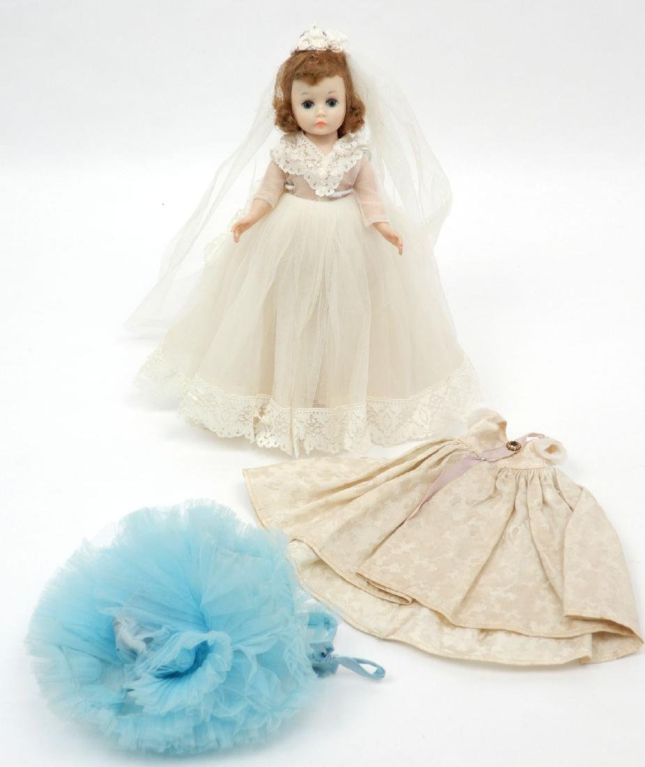 Madame Alexander Cissette doll with two additional - 3