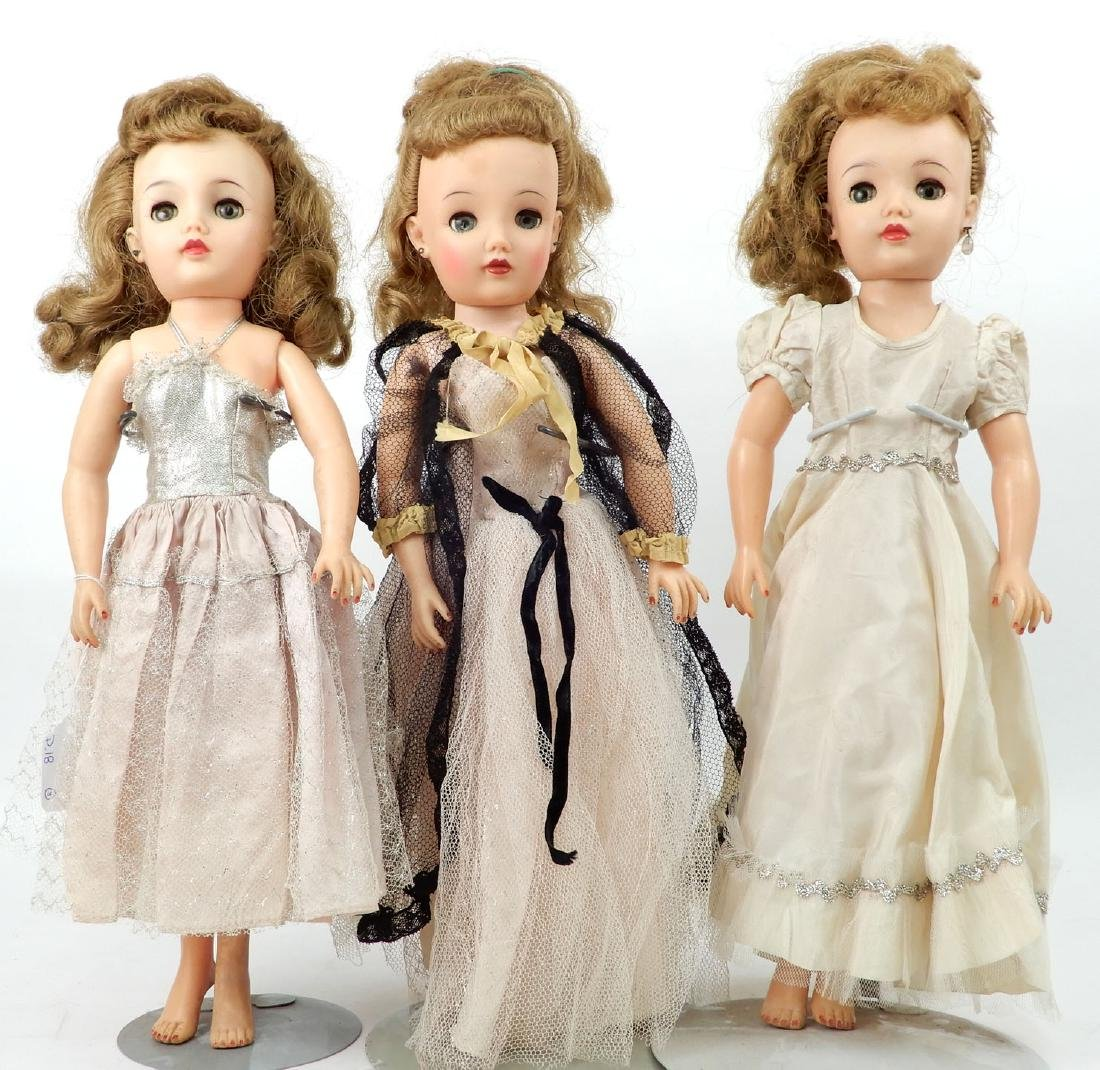 Grouping of vinyl and hard plastic dolls - 4