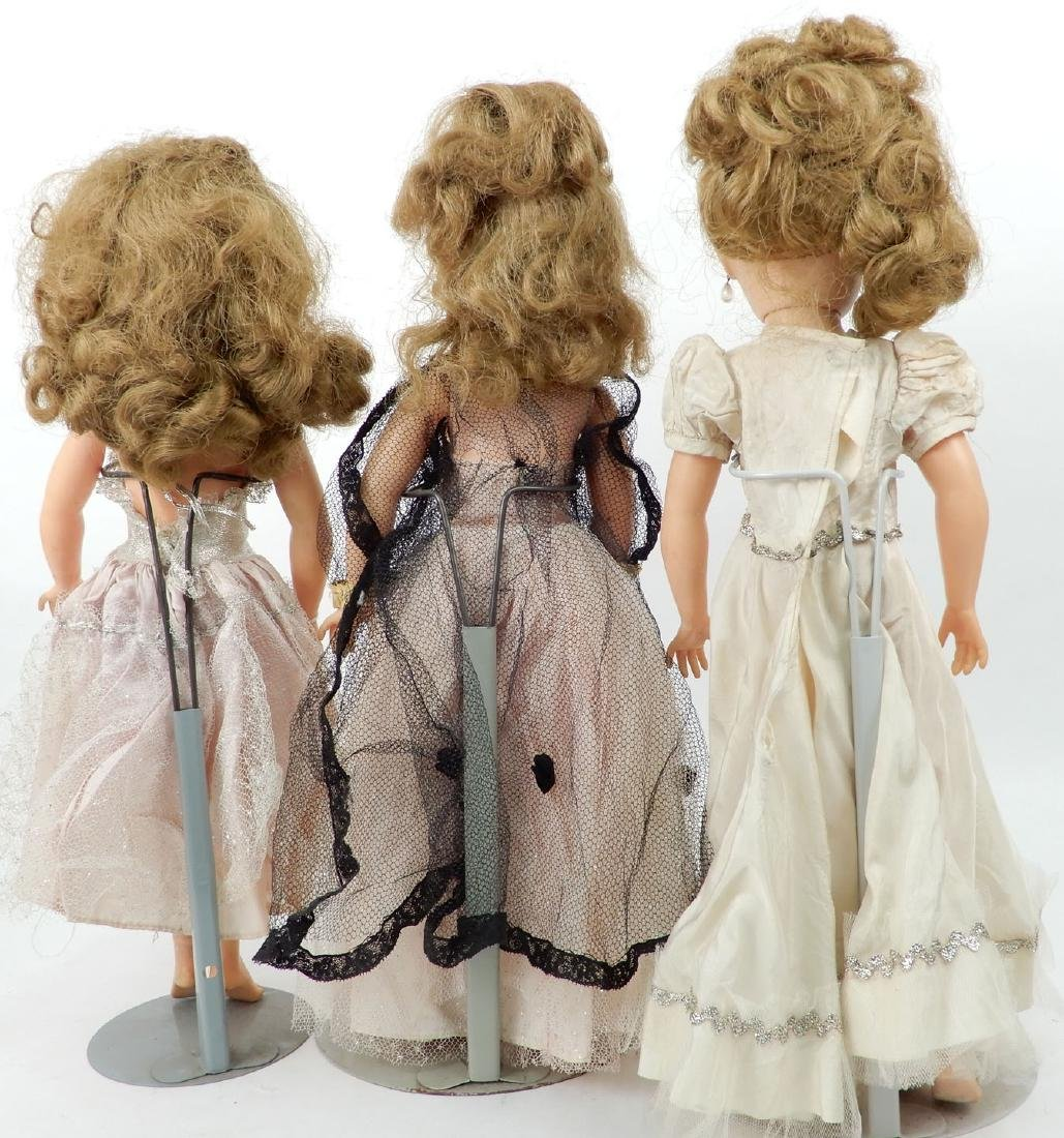 Grouping of vinyl and hard plastic dolls - 7