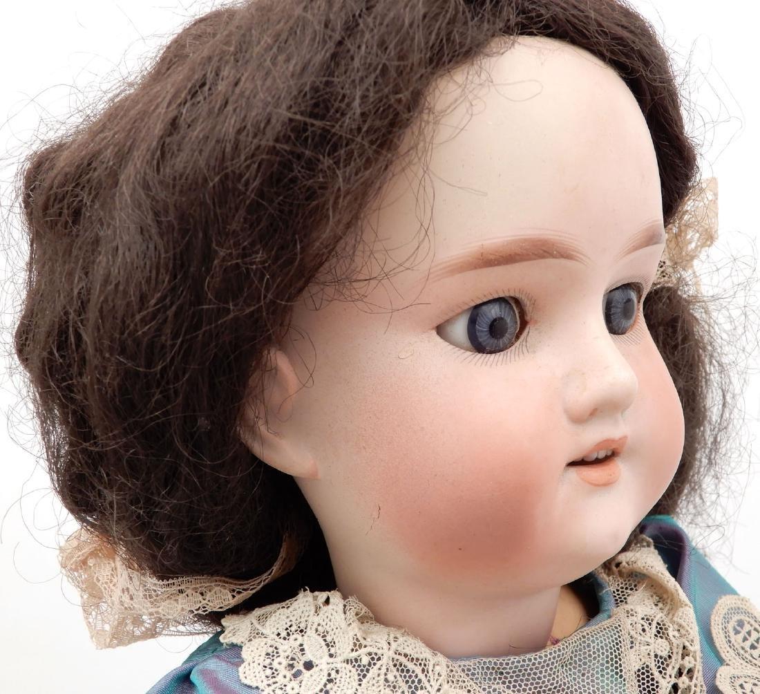 Armand Marseille bisque socket head doll - 4