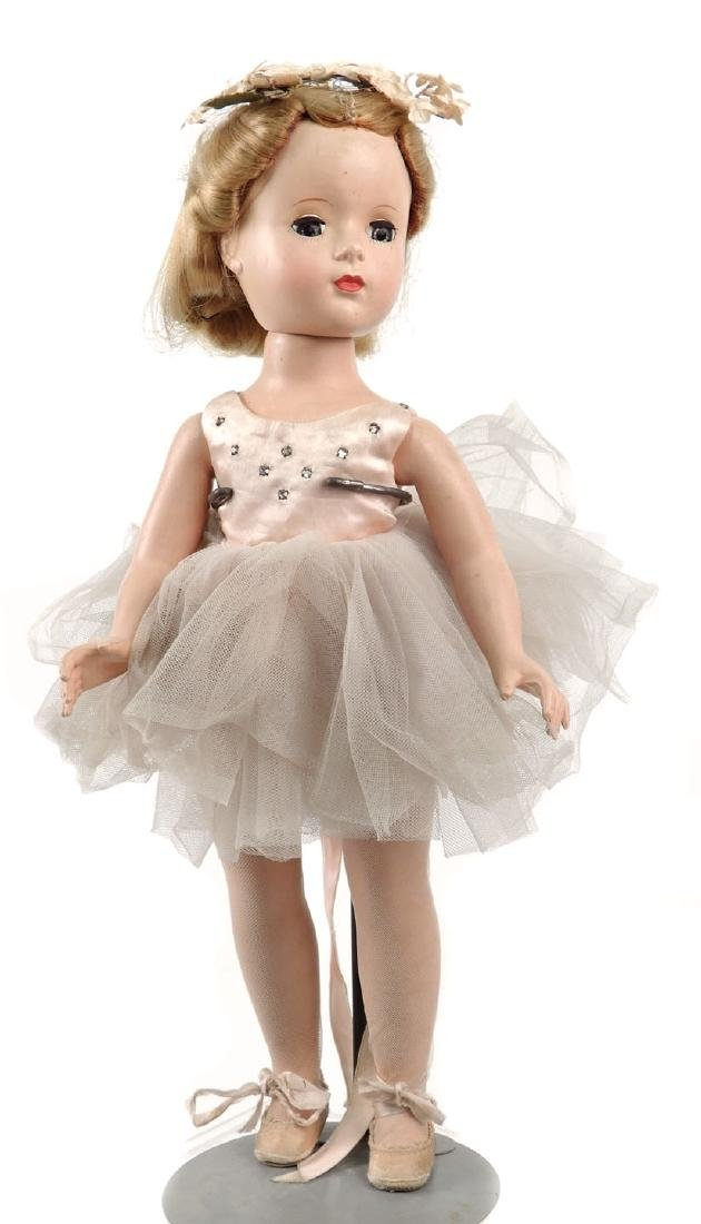1950's hard plastic walker Ballerina doll