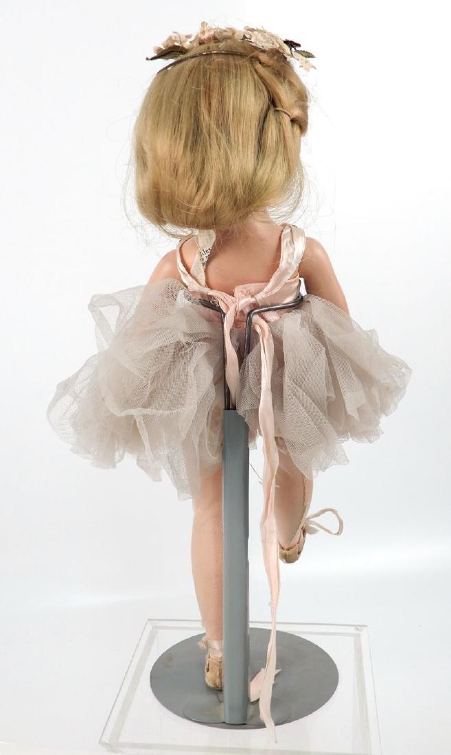 1950's hard plastic walker Ballerina doll - 2