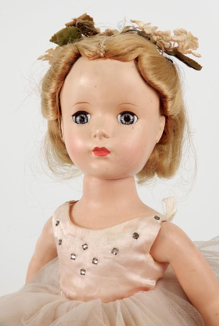 1950's hard plastic walker Ballerina doll - 5