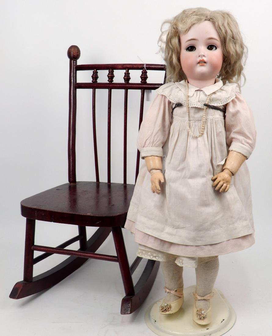 Kammer & Reinhardt 402 flirty bisque head doll - 3