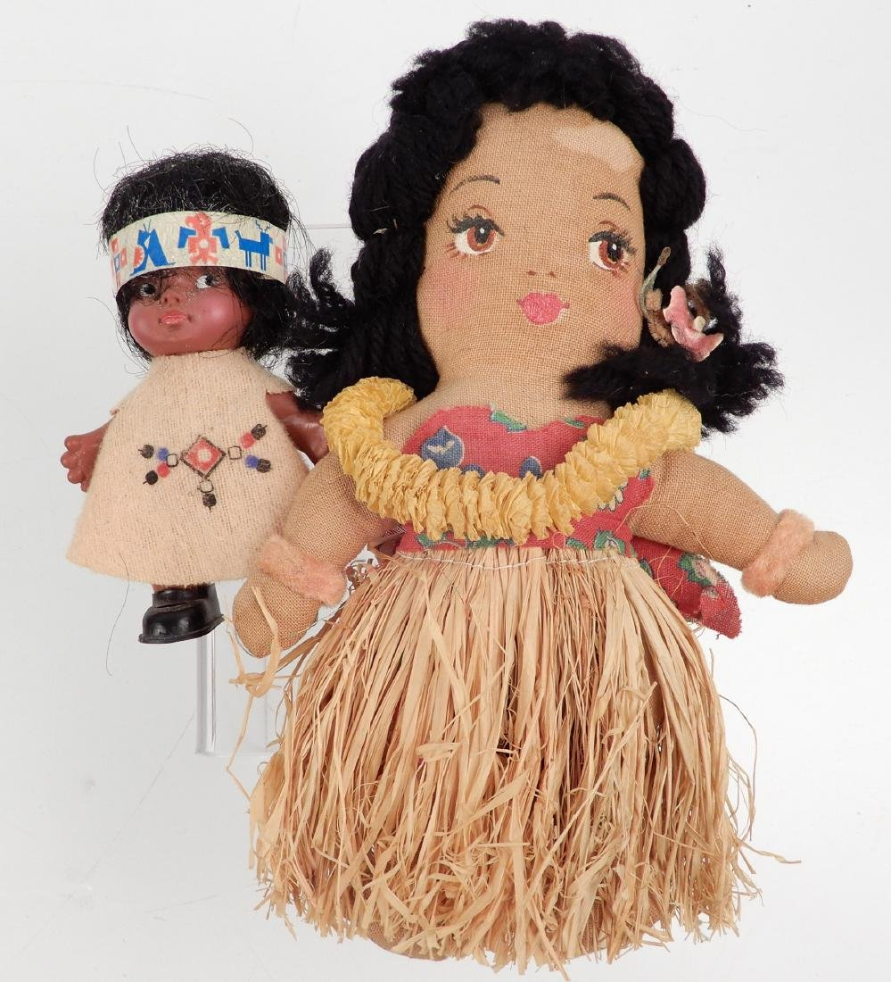 Grouping of vintage dolls - 6