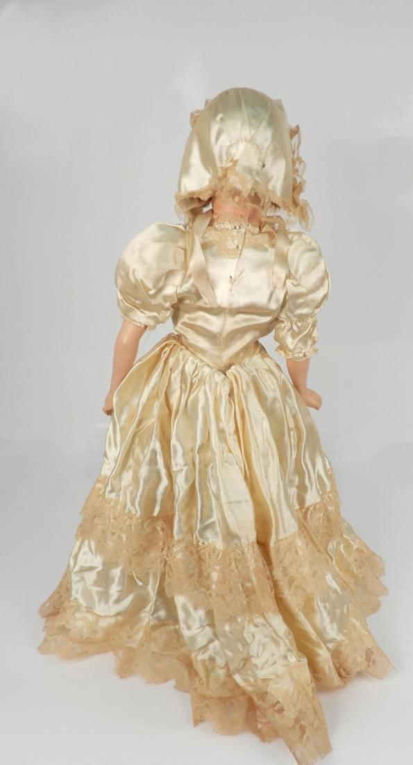 Vintage composition boudoir doll - 4