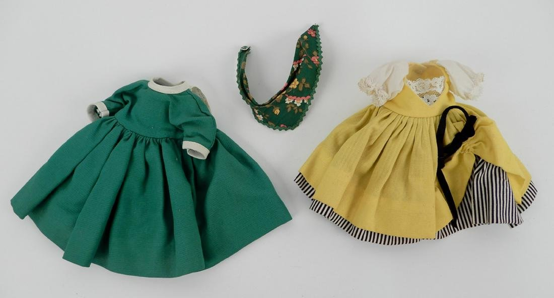 """Four Madame Alexander 8"""" dolls with assorted outfits - 3"""