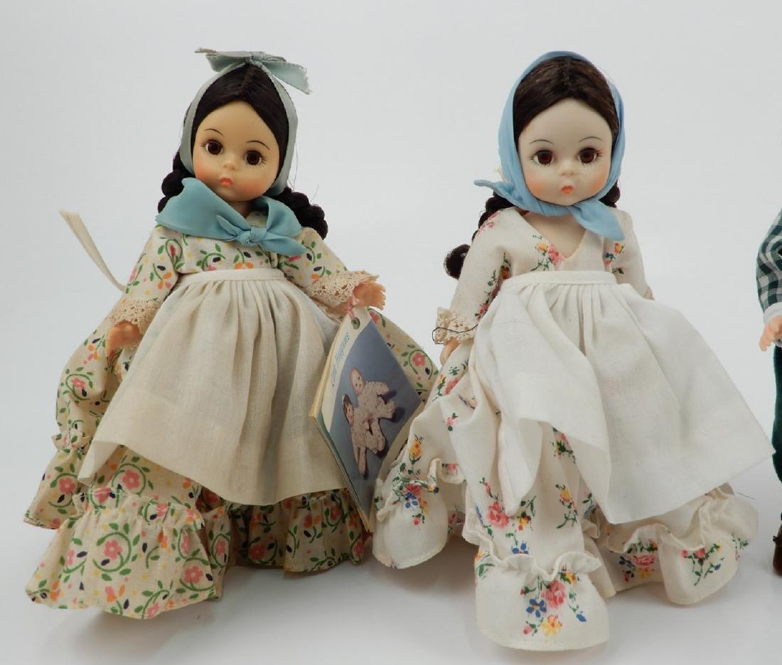 "Five Madame Alexander 8"" dolls - 2"