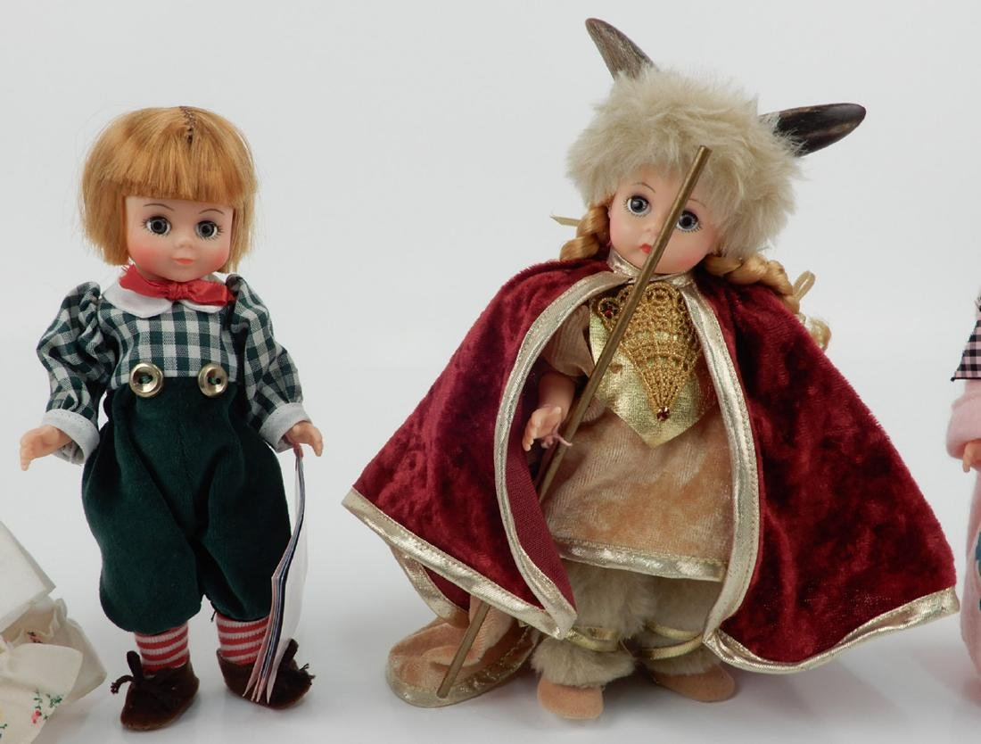 "Five Madame Alexander 8"" dolls - 3"