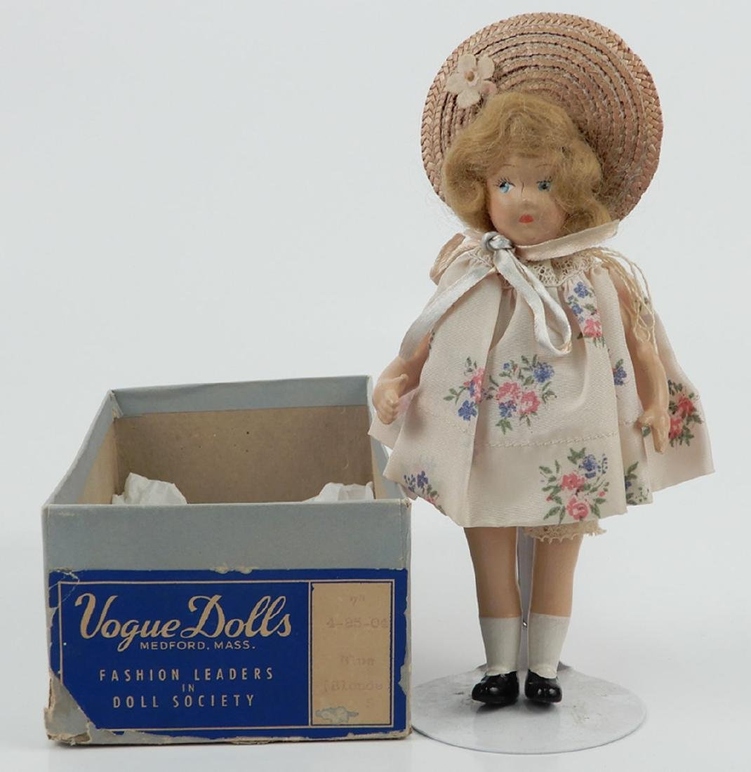 Vogue composition doll in box bottom