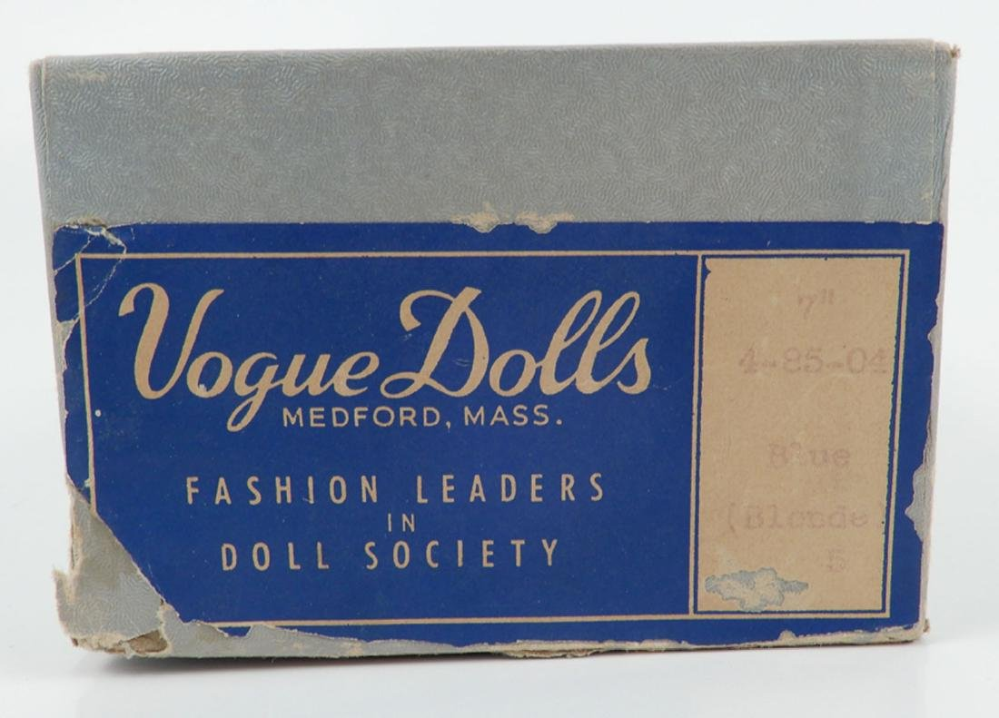 Vogue composition doll in box bottom - 4