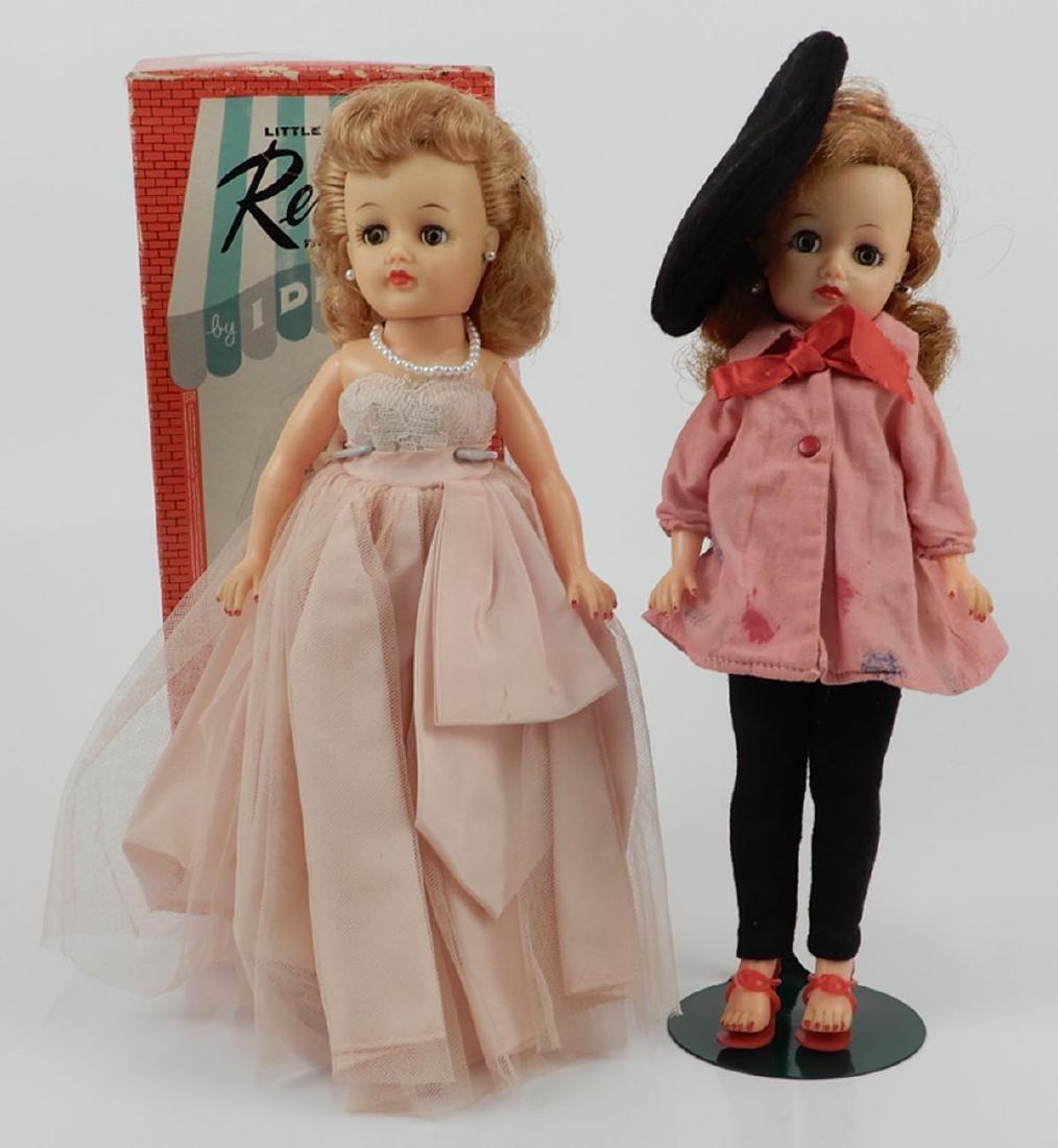 Two Ideal Little Miss Revlon dolls