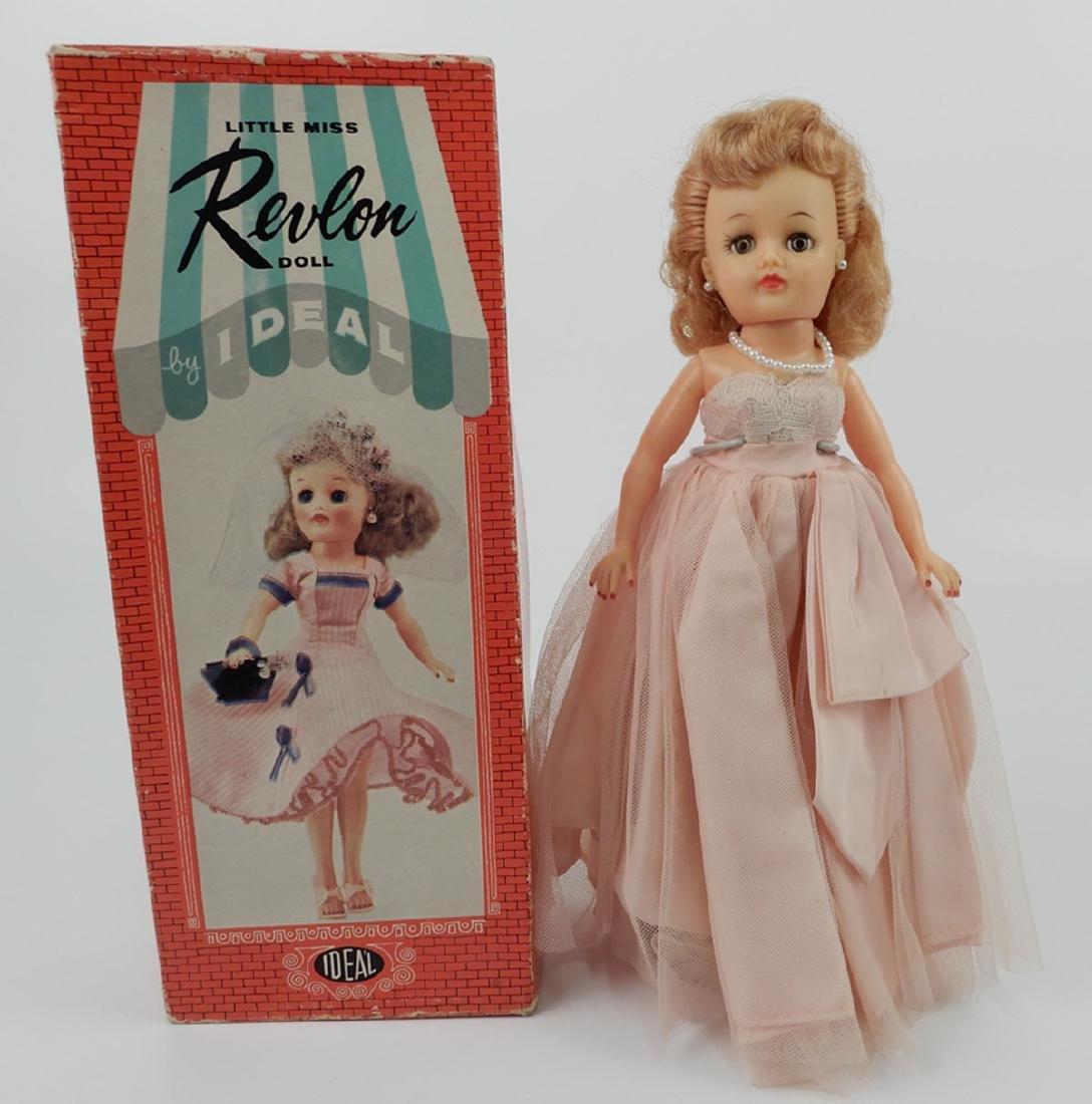 Two Ideal Little Miss Revlon dolls - 4