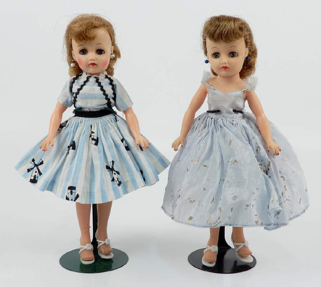 Two Ideal Little Miss Revlon dolls