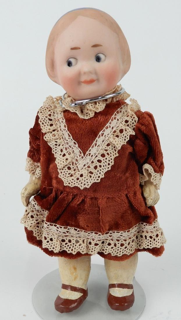 Recknagel bisque socket head doll