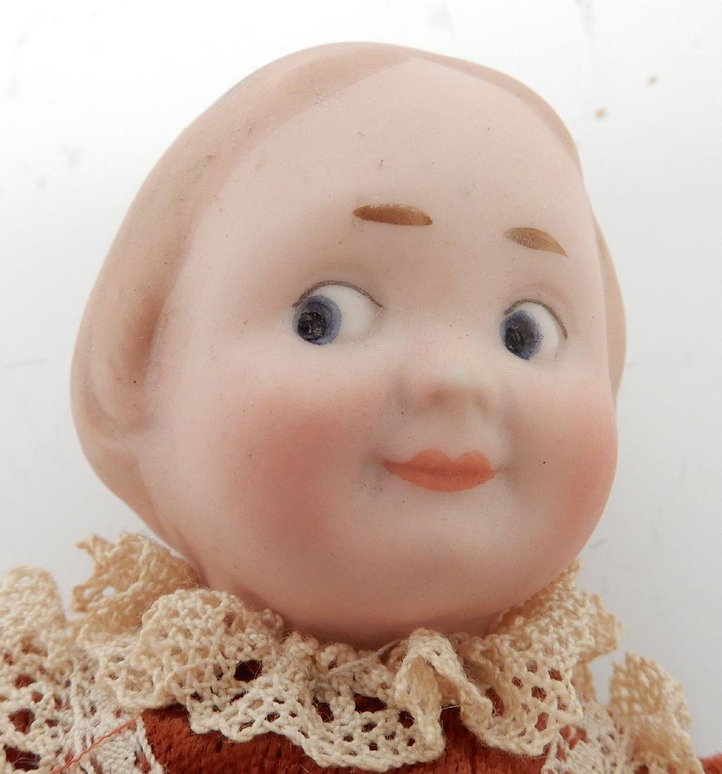 Recknagel bisque socket head doll - 3