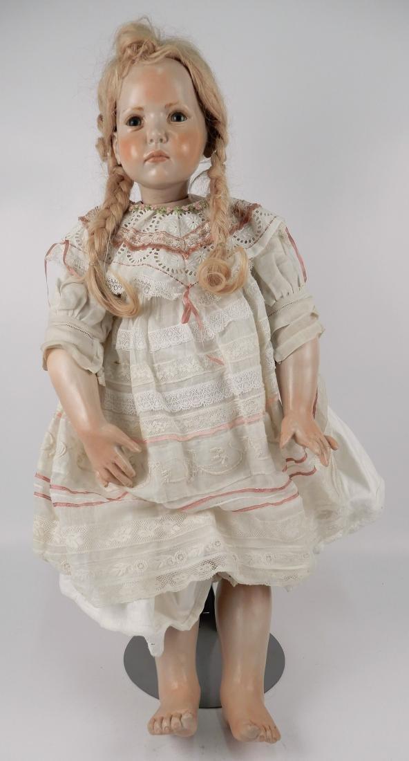 Hildegard Gunzel wax over porcelain Tricia artist doll