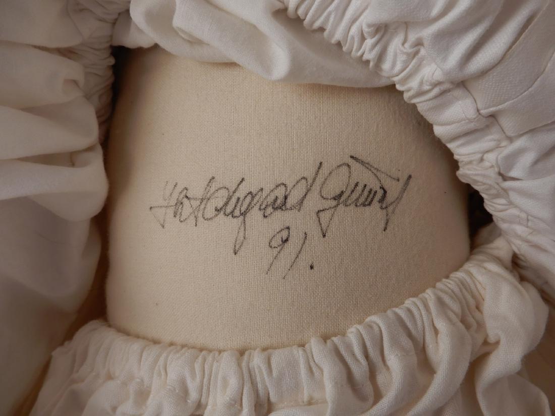 Hildegard Gunzel wax over porcelain Tricia artist doll - 3