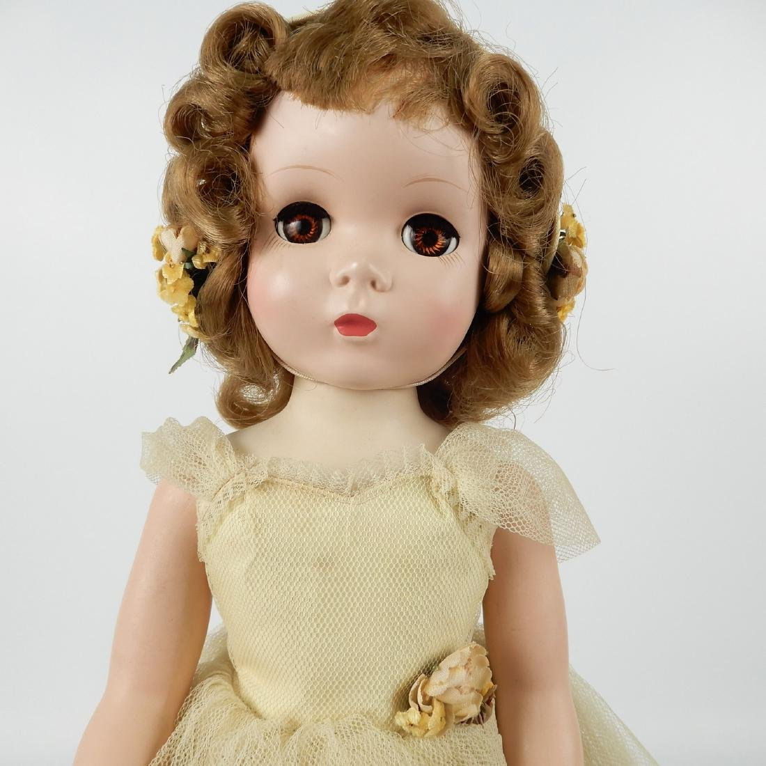 1953 Madame Alexander Rosamund bridesmaid doll - 2