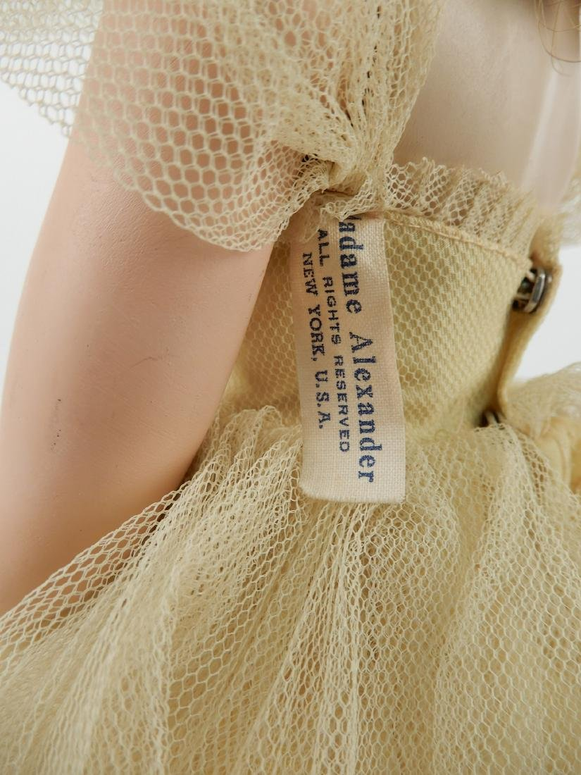 1953 Madame Alexander Rosamund bridesmaid doll - 3