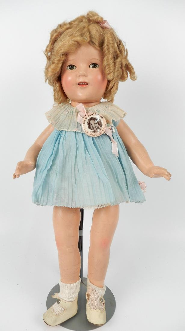 1930's Ideal Shirley Temple composition doll