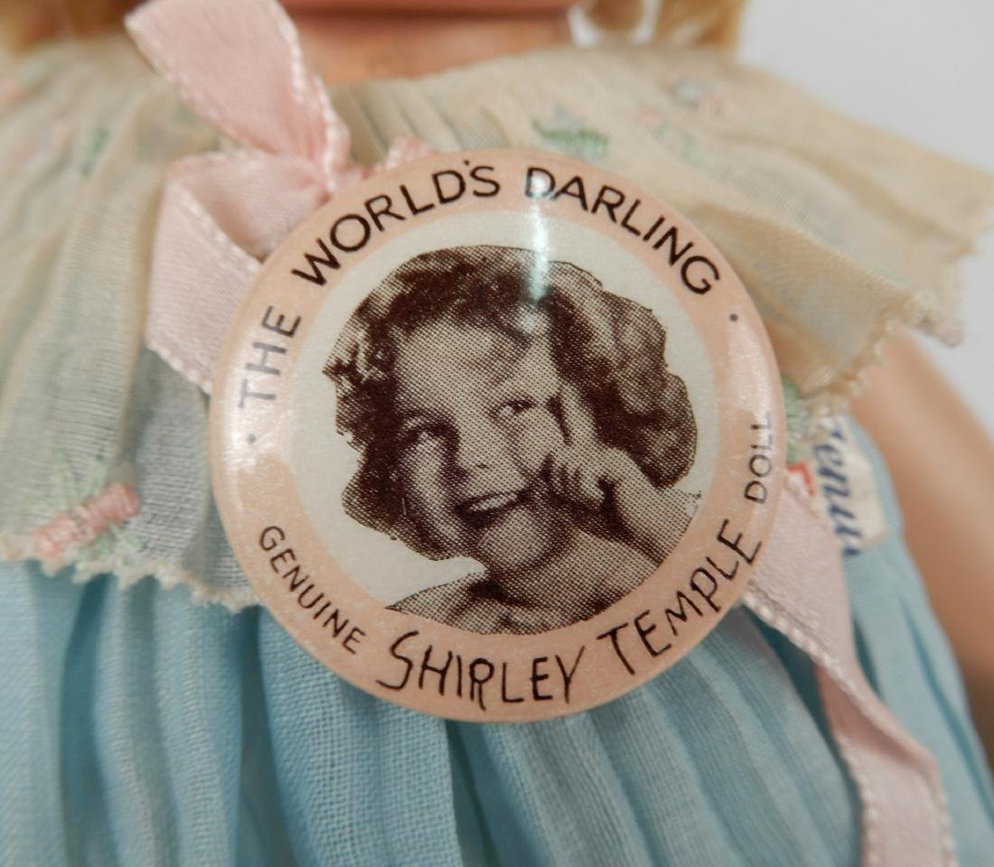 1930's Ideal Shirley Temple composition doll - 2