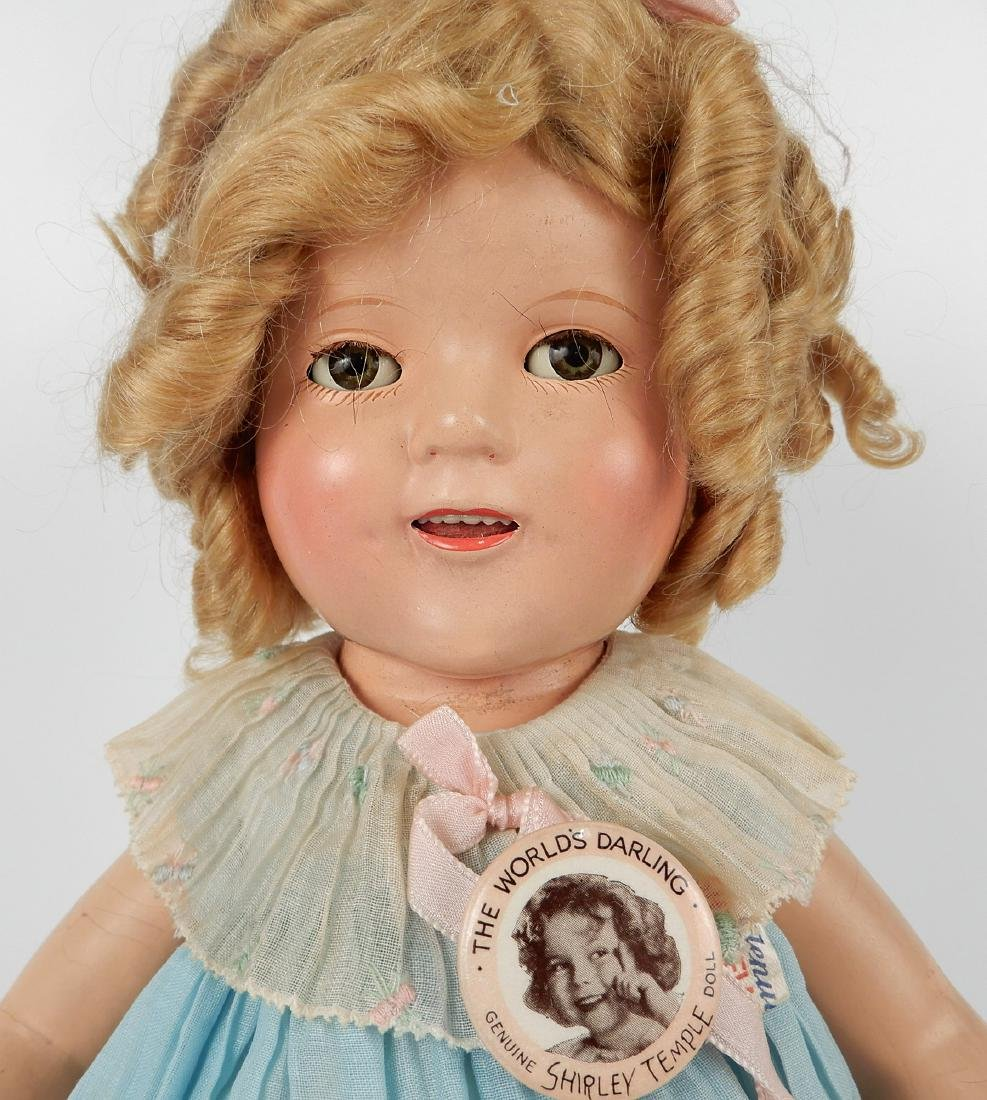 1930's Ideal Shirley Temple composition doll - 3