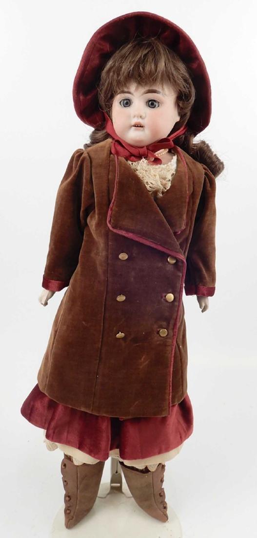 CM Bergmann Columbia bisque shoulder head doll