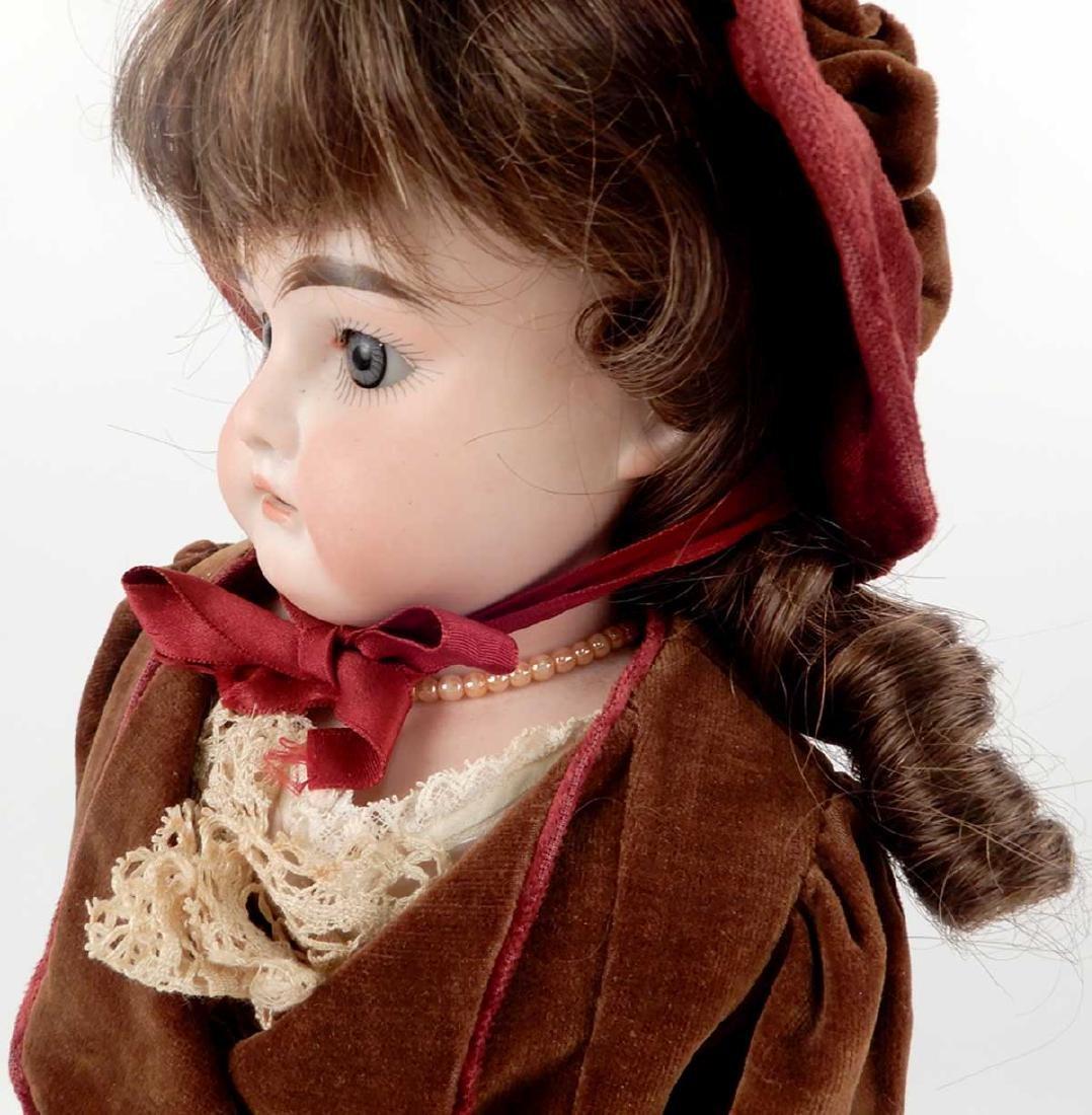 CM Bergmann Columbia bisque shoulder head doll - 3
