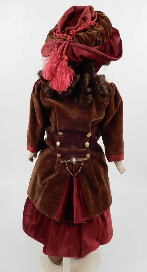 CM Bergmann Columbia bisque shoulder head doll - 7