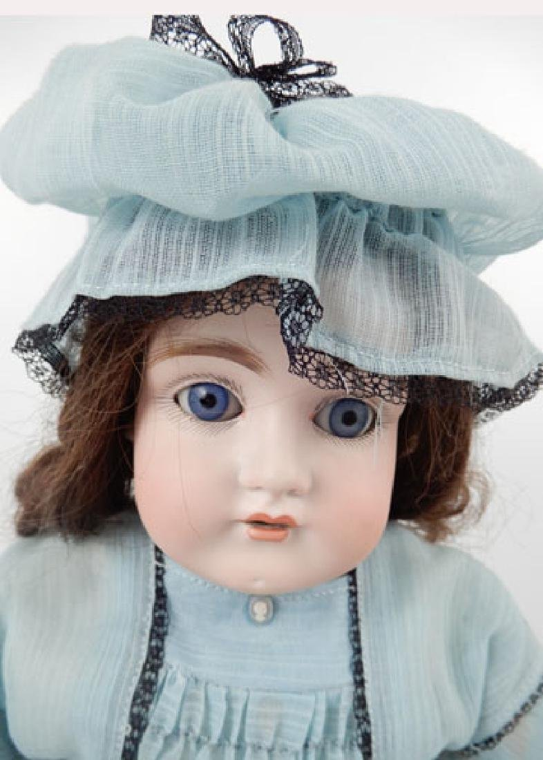 Kestner 154 bisque shoulder head doll - 2