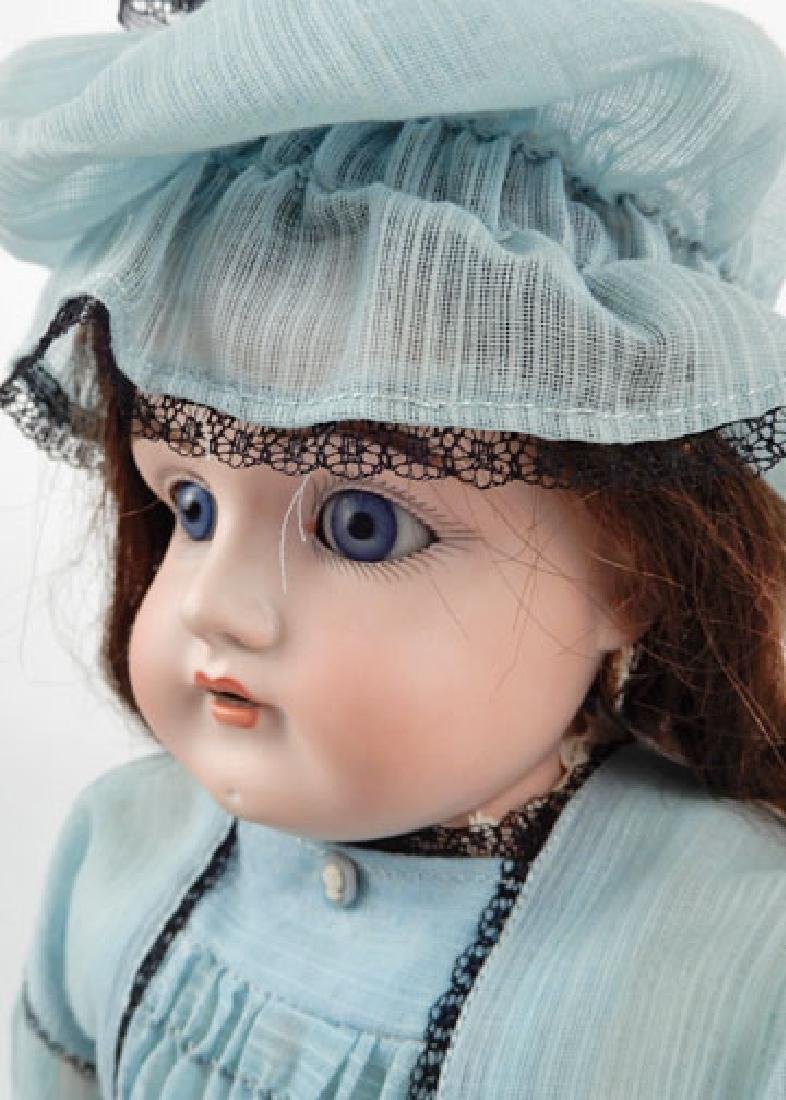 Kestner 154 bisque shoulder head doll - 3