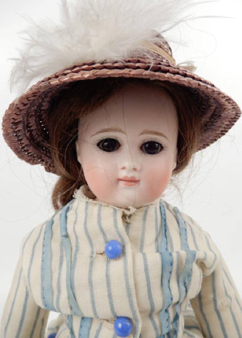 Bisque shoulder head doll - 2
