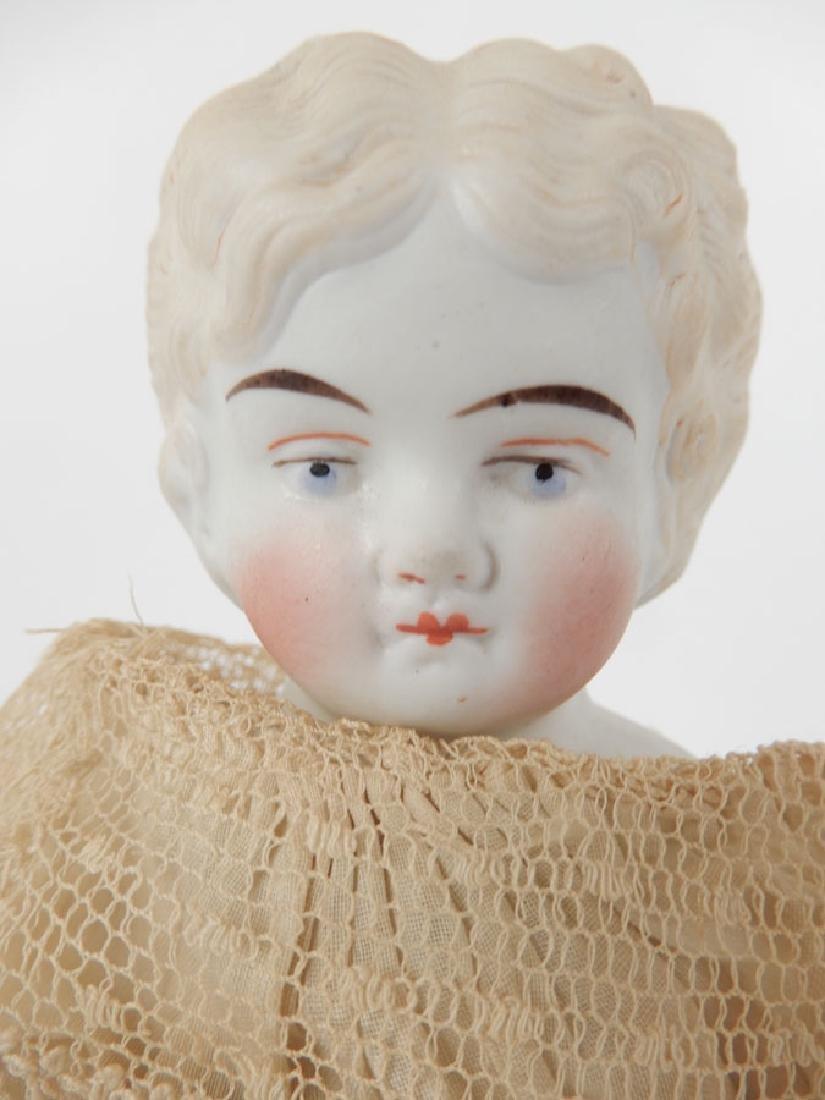 Bisque shoulder head doll - 2