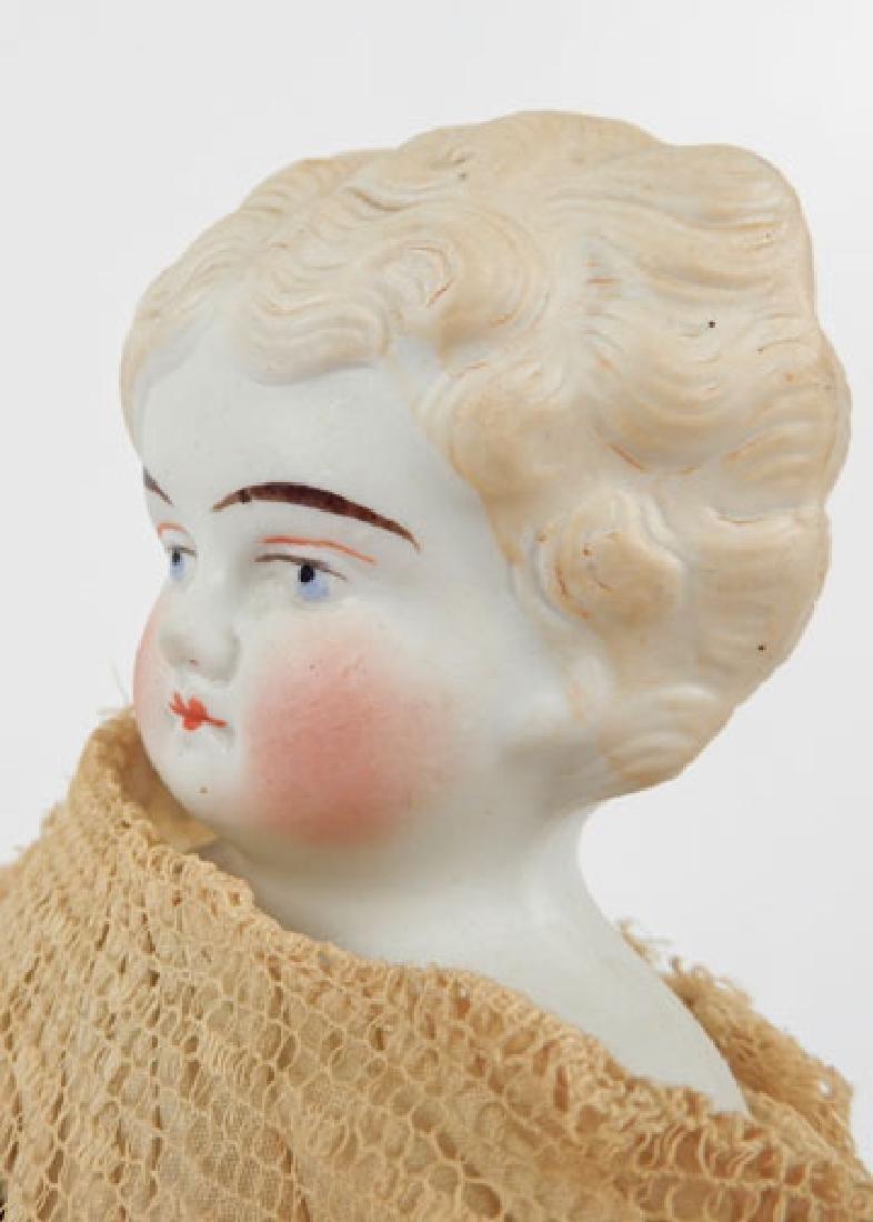Bisque shoulder head doll - 3