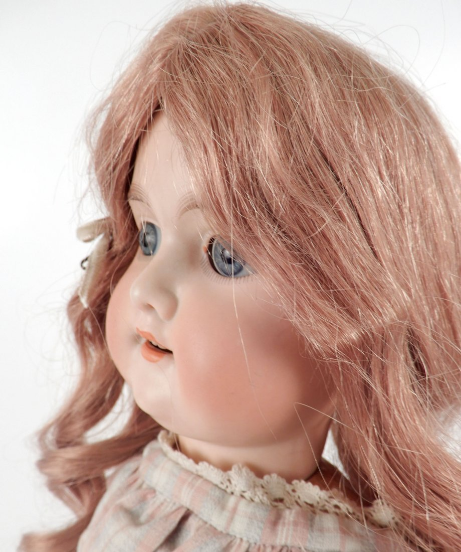 Armand Marseille Florodora bisque socket head doll - 3